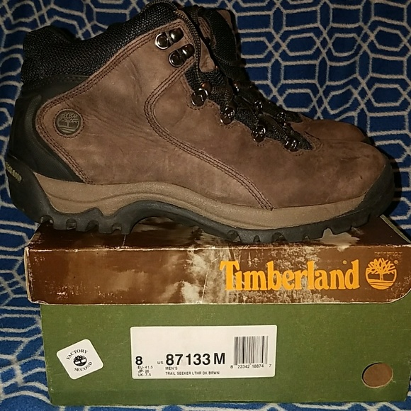 84bbbf71659 MEN'S TIMBERLAND TRAIL SEEKER MID HIKING BOOTS